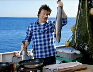 Джейми Оливер готовит сайду