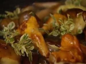 Начинка из грибов для кальцоне