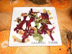 Добавить кинзу к салату