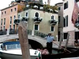 Венеция - родина тирамису. Гондола