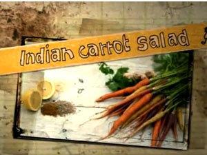 Продукты для салата из моркови