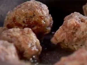 Фрикадельки из колбасок