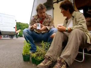Джейми беседует с Джекки о травах