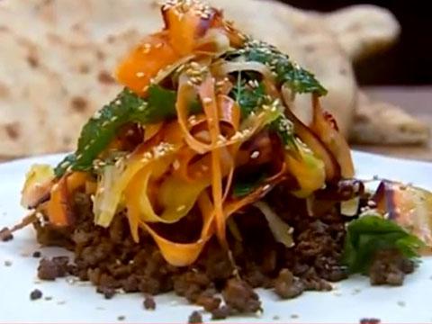 Индийский салат из моркови