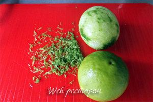 Лаймы для заправки десерта из арбуза
