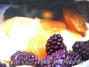 Яблоки с ежевикой - начинка для яблочного пирога
