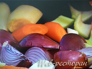 Овощи для запекания с птицей