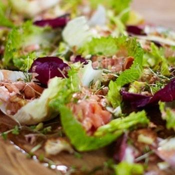 Рецепты к Новогоднему столу от Джейми! Новогодний салат Кровавая Мери