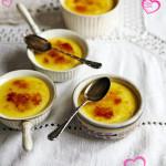 Рецепты ко дню св. Валентина от Джейми! Десерт крема каталана
