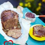 Рецепты ко дню св. Валентина от Джейми! Сладкий хлеб с орехами и бананами и шоколадным маслом!