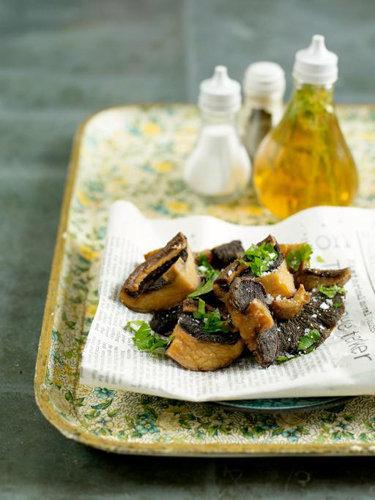 Рецепты постных блюд. Как приготовить жареные грибы во фритюре