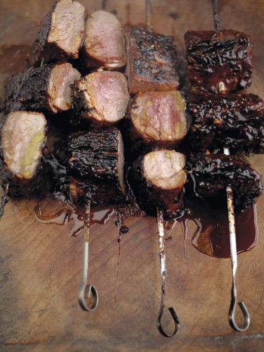 Пасхальные рецепты. Запеченная свинина на гриле