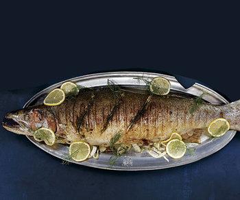Рыба готова