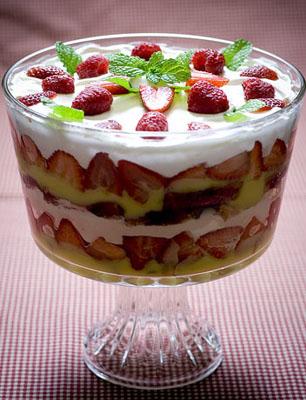 Трайфл – это простой десерт английской кухни
