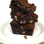 Шоколадный брауни рецепт с вишней и орехами