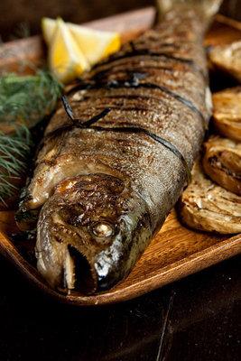 запеченный лосось в духовке