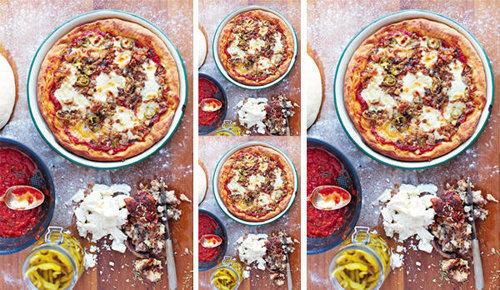 Как приготовить пиццу по-американски