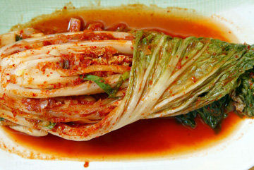 Кимчи - это ароматное полезное блюдо