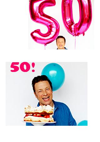 Торт с клубникой к 50!