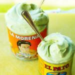 Мороженое дома из авокадо