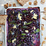 Рецепты с сыром. Запеченный виноград