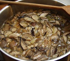 Рецепт грибной икры