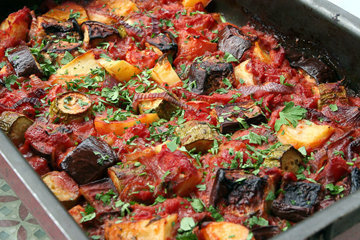 Рецепт говядины с капустой в духовке