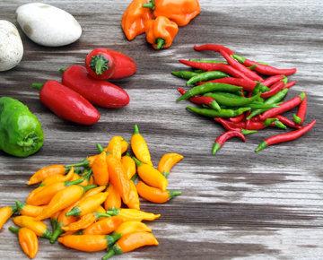 Фаршированный перцы чили, запеченные на гриле – кулинарный рецепт
