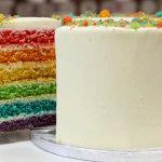 Праздничный торт РАДУГА - необыкновенной красоты