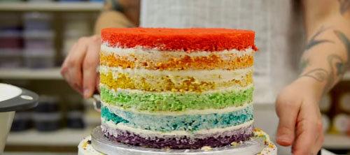 СБОРКА И УКРАШЕНИЕ торта