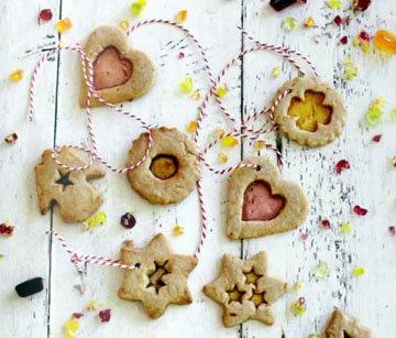Этим печеньем можно украсить елку