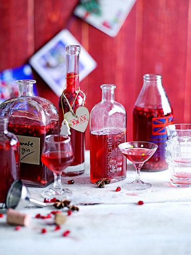 Рецепты к Новогоднему столу. Напитки рецепты