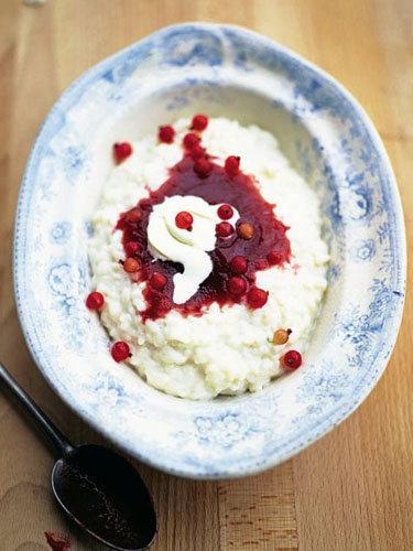 Рисовый пудинг рецепт исландский к Рождеству