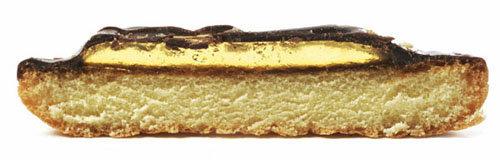 Печенья состоят из трех слоев