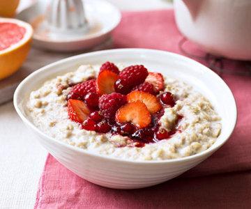 Полезный завтрак. Овсянка