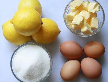 Продукты для лимонного курда