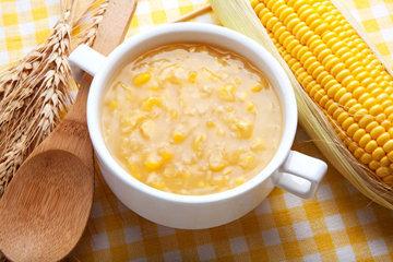 Рецепт овощного супа с кукурузой