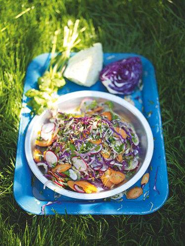 Салат из свежей капусты рецепт из Мексики