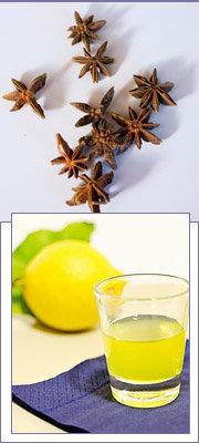 Лимончелло и бадьян