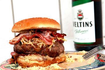 Гамбургер рецепт BARBECOA - один из многих рецептов гамбургеров, но зато один из лучших