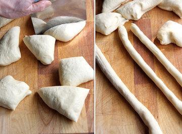 Как приготовить итальянские дрожжевые булочки 1