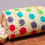 Приготовление бисквита - рулет в крапинку
