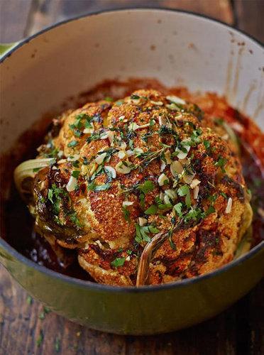 Рецепты постных блюд. Как приготовить цветную капусту