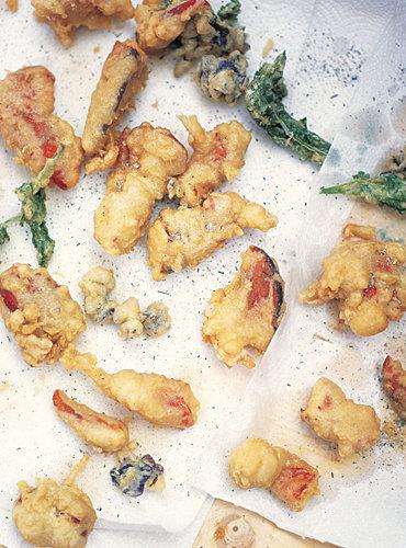 Темпура - рецепт для рыбы, морепродуктов и овощей
