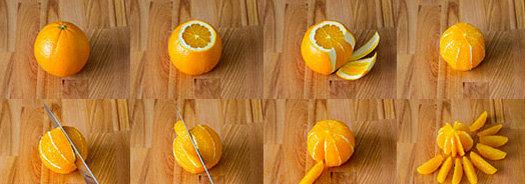 как филировать грейпфрут