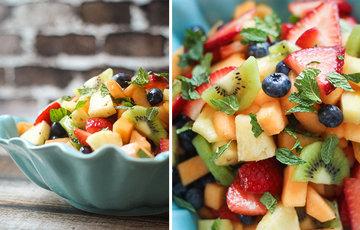 1 кг фруктов/ягод - свежих или замороженных