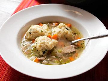 Суп с курицей рецепт с клецками очень хорош для обеда!