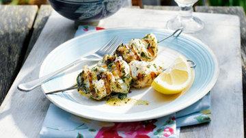 Шашлык из рыбы рецепт на гриле - отличное летнее блюдо!