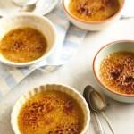 Десерт Крем брюле с чаем Earl Grey