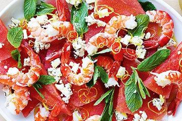 497Простые салаты с креветками рецепты с простые и вкусные на день рождения
